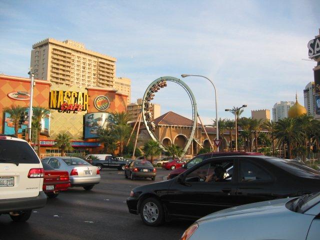 Nascar casino las vegas roller coaster