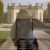 Coralie's reflection, Petit Trianon, 2001
